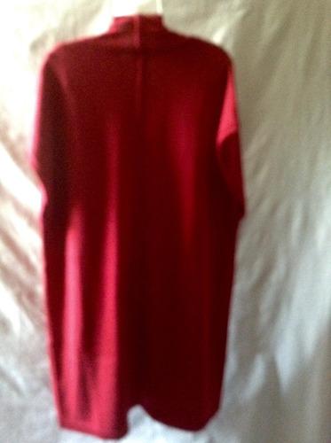 saco nuevo grande rojo oscuro recién llegado de usa t. 3 xxl