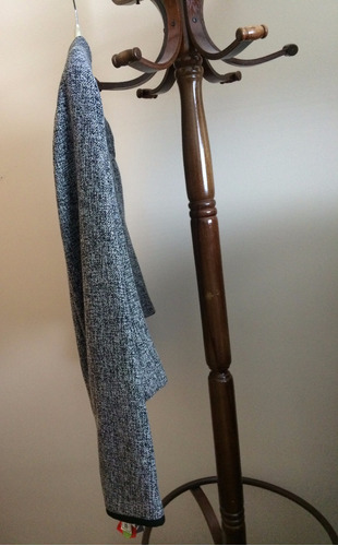 saco tipo torera gris-interior negro - brezi - hasta 15 agos