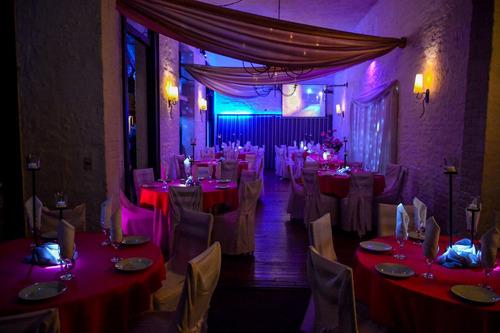 salón de fiesta -bodas-15 años-recibimientos-cumpleaños.
