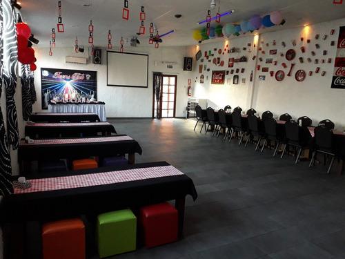 salón de fiestas adolescentes cumpleaños baile matinée