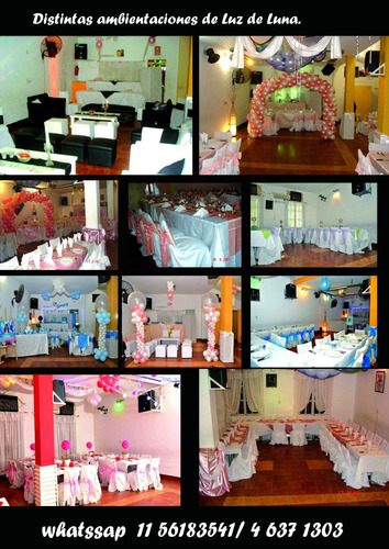 salon de fiestas cumpleaños casamientos  economico capital