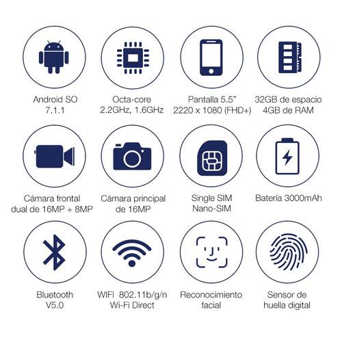 samsung a8 2018 5.5' octa core 32gb 4gb ram gtia oficial loi