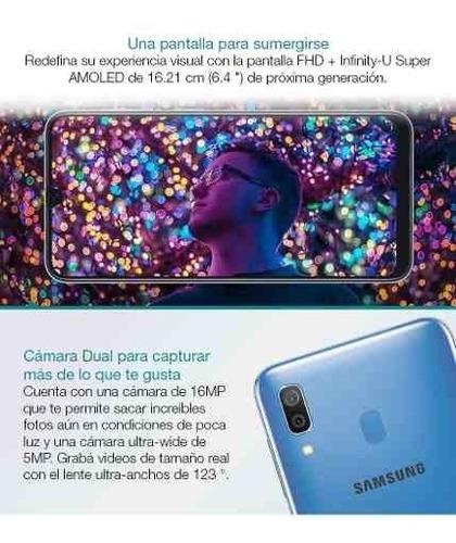 samsung galaxy a30 32gb 3gb oficial + estuche oferta loi