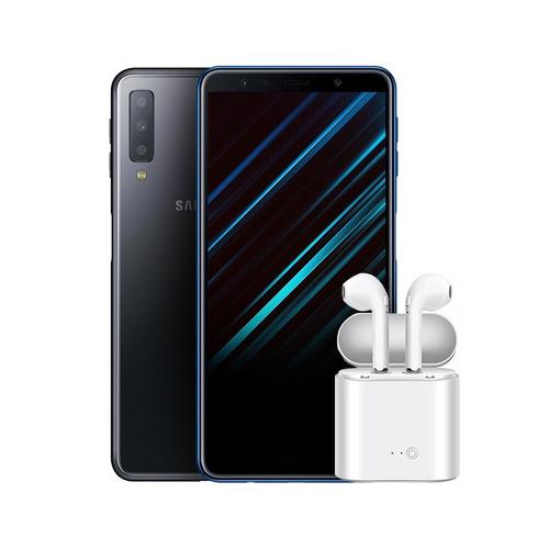 samsung galaxy a7 2018 triple camara 64gb/4 +auriculares bde