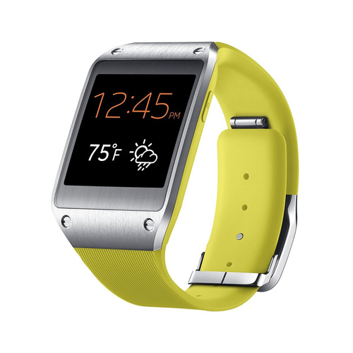 samsung galaxy gear smartwatchretail packaging lime