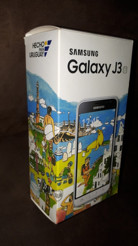 samsung galaxy j3 6, 8gb, pantalla tactil rota