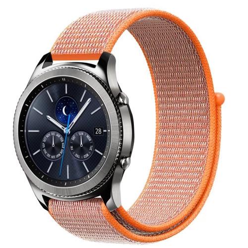 samsung gear s3 frontier / reloj clásico velcro band, kso