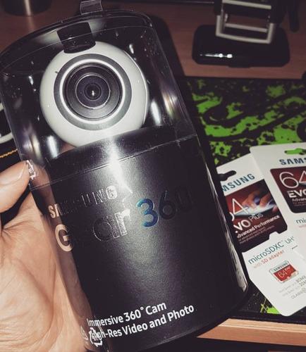samsung gear vr 360 4k 1 solo uso c/ boleta. garantía