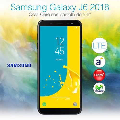 samsung j6 2018 5.6' 32gb 2gb dual sim gtia oficial loi
