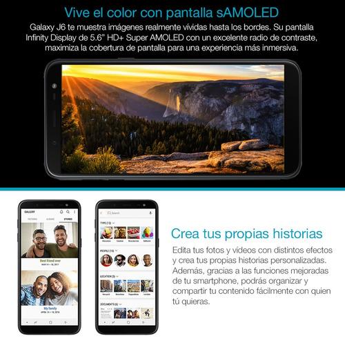 samsung j6 2018 5.6  octa core 32gb 2gb dual sim huella loi