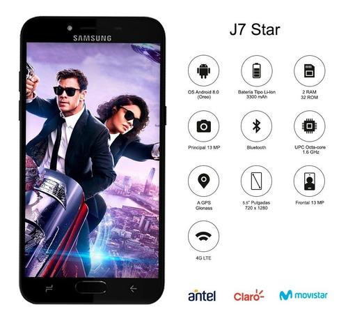 samsung j7 prime star 2018 5.5' atención 32 /2gb+ regalo p m
