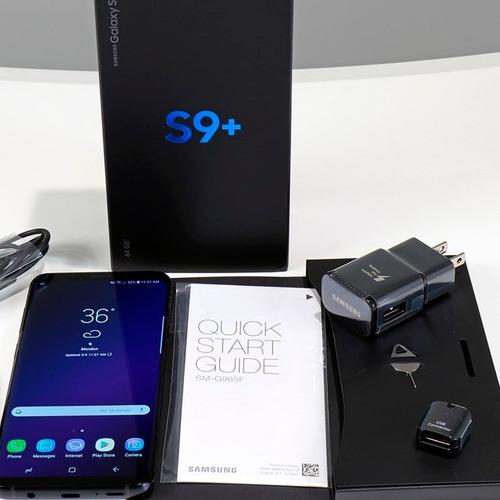 samsung s9+ duos 64gb | libre y nuevo | s9 plus dual sim