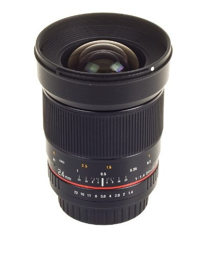 samyang sy24m-o 24mm wide angle lens for olympus