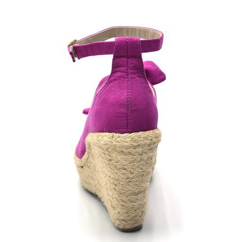 sandália anabella com detalhe em laço