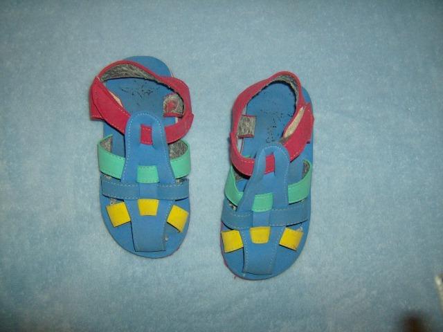 Sandalia Bebe Modelo Romanitas En Goma Eva Con Velcro 6000 En - Bebe-de-goma-eva