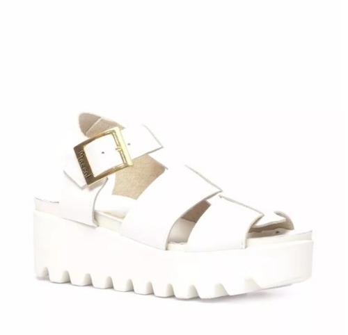 sandalia de cuero marcel calzados (cod.17120) #oca
