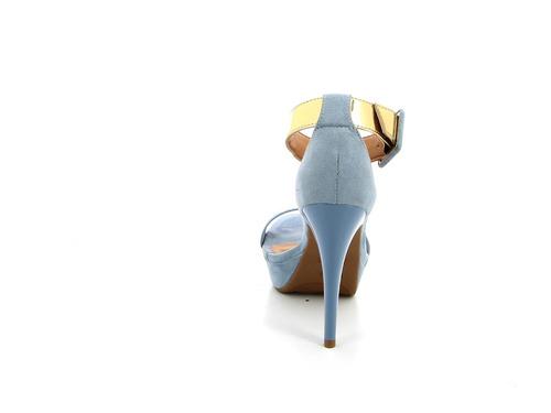 sandalia vizzano de mujer lxv c/plat. alta c/puls ancha