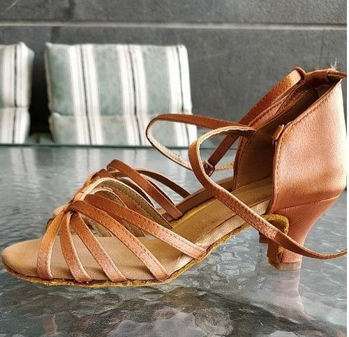 sandalias de salsa - bachata - tango/ sandalias baile latino
