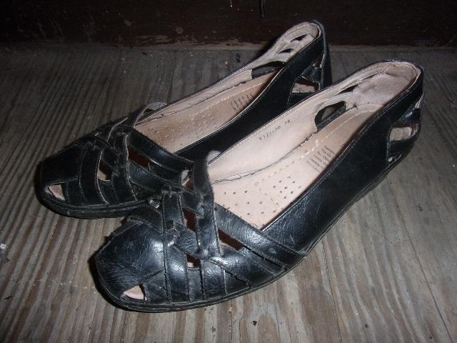 4139e988772 Sandalias Negras Muy Cómodas Para Dama