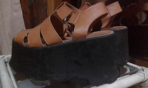 sandalias plataforma