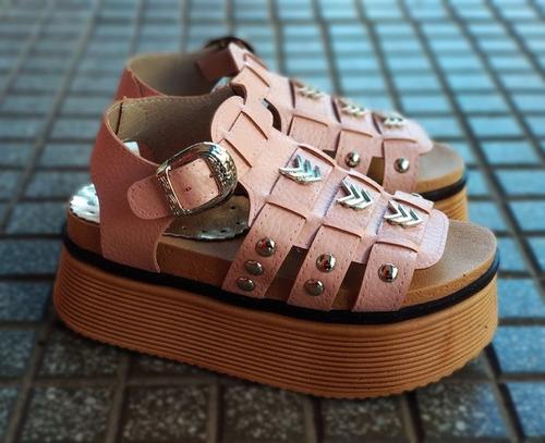 sandalias plataforma mujer verano 2019! liquidacion