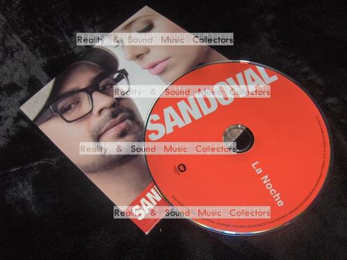 sandoval la noche cd de coleccion!!