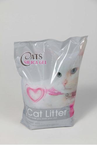 sanitario en gel para gatos silica gel 3,8 lts