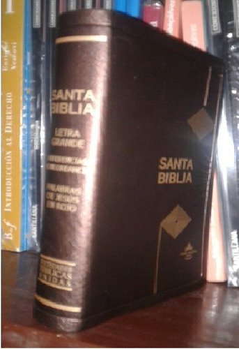 santa biblia reina valera 60 en vinil títulos dorados