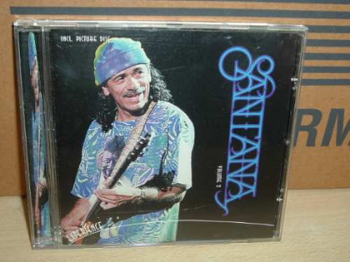 santana - vol 2 with a little help from my friends cd import