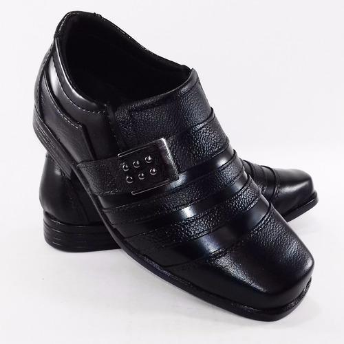sapato social masculino infantil couro promoção + barato