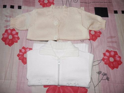saquitos hilo y lana- niña 1-2 años