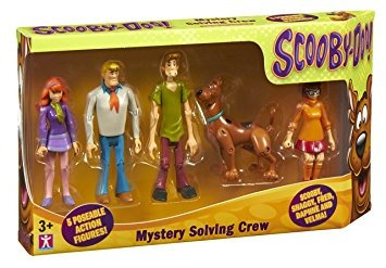 scooby-doo set figuras!!! + obsequio!!