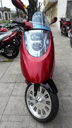 scooter nipponia 125 - 100% financiada - bike up