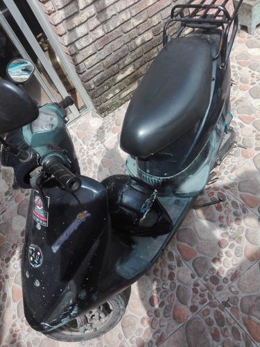 scooter sanyang! automática! al día!