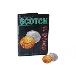 scotch and soda. monedas trucadas. magia . dvd gratis