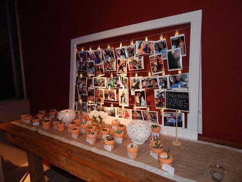 se alquilan escalera para souvenir, cuadro para fotos ...