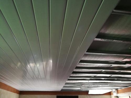 se hacen colocación de cielorraso de pvc, yeso,steel framing