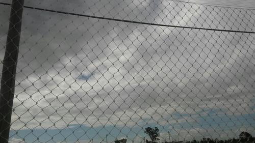 se hacen  redes de cerramientos para canchas de futbol 5