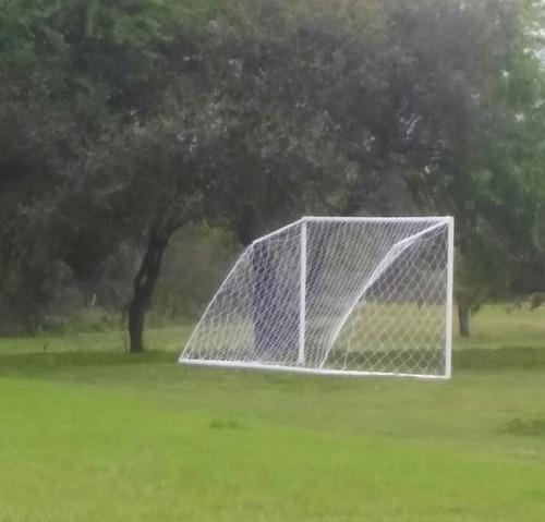 se hacen redes para arcos de fútbol a medidas consulté