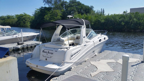 sea ray sundancer 28 pies  año 2008  250 hs mercruiser 350hp