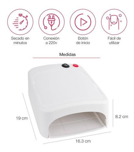 secador de uñas pro con temporalizador de 2 minutos en loi