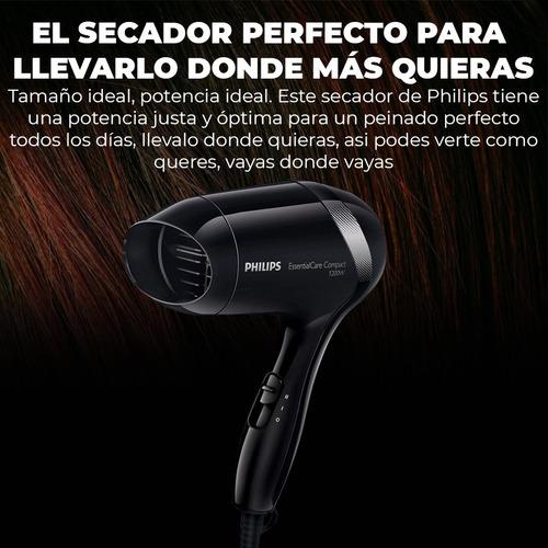 secador philips 1200w compacto garantia 2 años - black dog