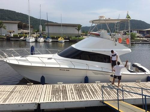 sedna 40 ano 2014 2x volvo ips 600 hp - marina atlântica