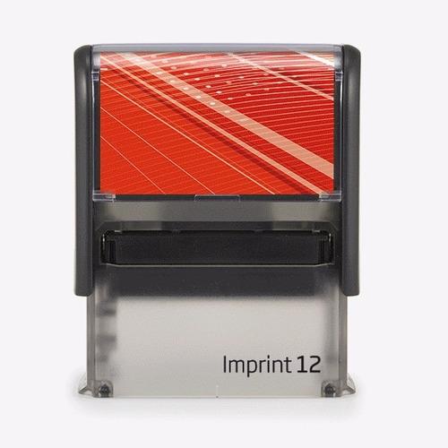 sello de goma automático imprint 12