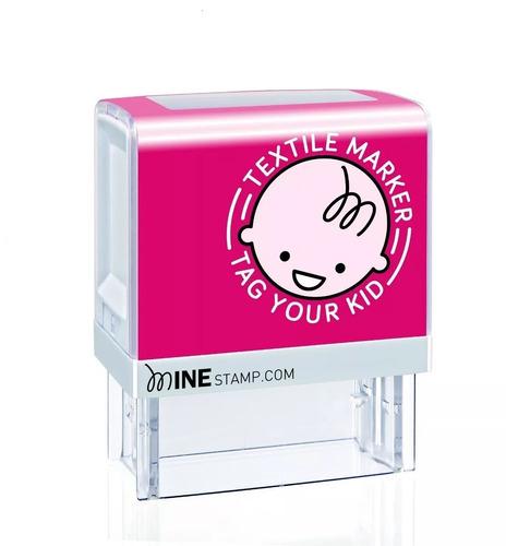 sello personalizado minestamp- para ropa y libros