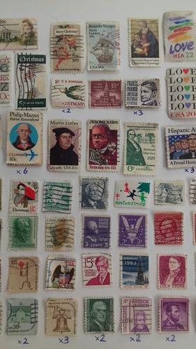 sellos internacionales de usa para filatelia