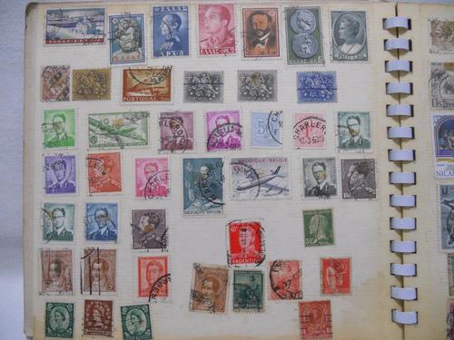 sellos postales correos - lote de 69 unidades varios países