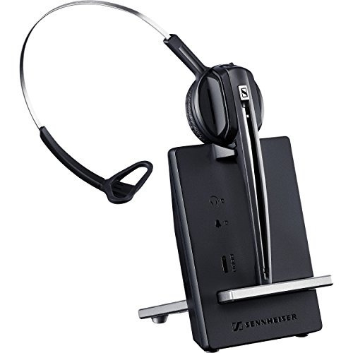 sennheiser d 10 phone single sided wireless dect headset