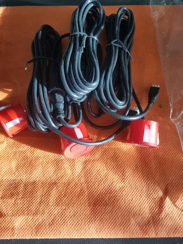 sensores el pack de 4. tenemos los colores; rojo,azul,blanco