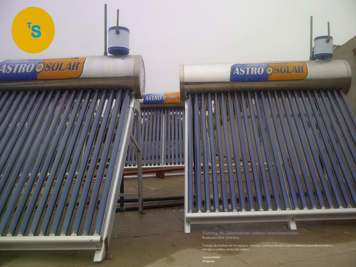 service e instalaciones de calentadores de agua solares
